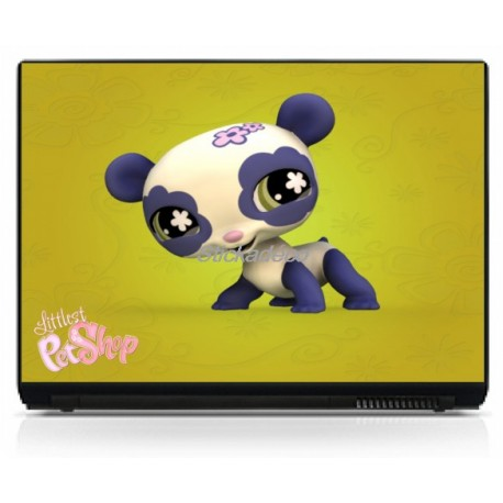 Stickers Autocollants PC portable Littlest Pet Shop 1