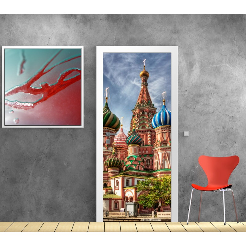 affiche poster porte d co palais russe art d co stickers. Black Bedroom Furniture Sets. Home Design Ideas