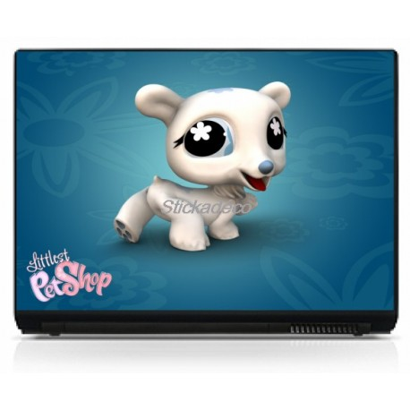 Stickers Autocollants PC portable Littlest Pet Shop 2