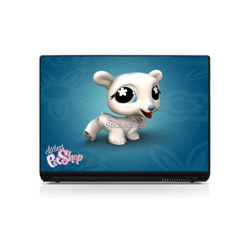 stickers autocollants pc portable littlest pet shop 2 art d co stickers. Black Bedroom Furniture Sets. Home Design Ideas