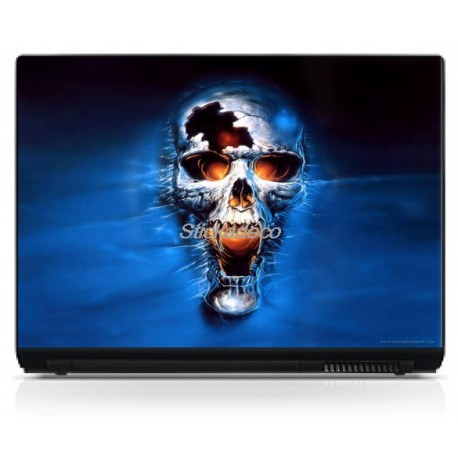 Stickers Autocollants PC portable Skull 7