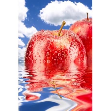 Sticker frigidaire Frigo Pomme