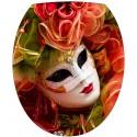 Stickers WC, stickers abattant de WC carnaval de Venise
