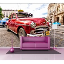 Stickers géant déco : voiture cuba