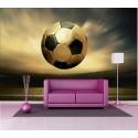 Stickers géant déco : ballon de foot