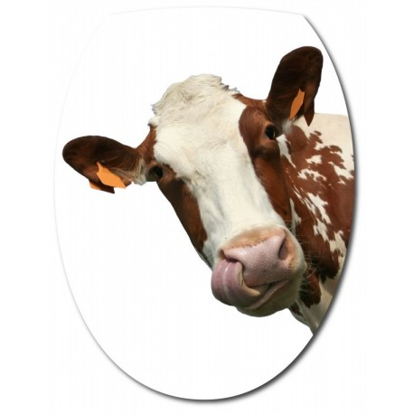 Sticker Abattant de WC Vache