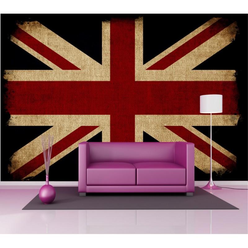 stickers g ant d co drapeau anglais art d co stickers. Black Bedroom Furniture Sets. Home Design Ideas