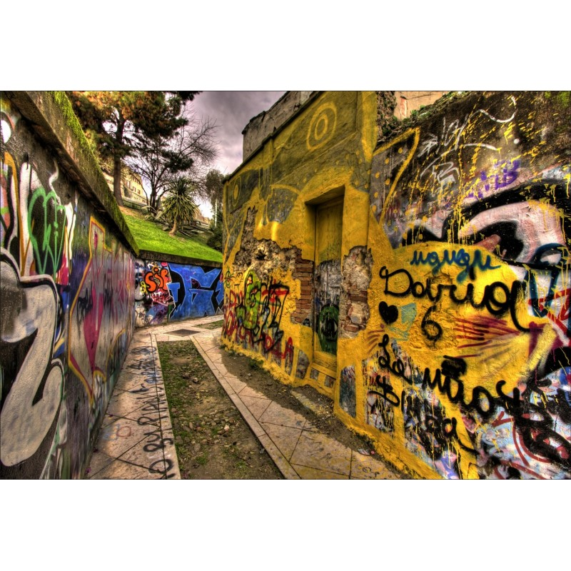 Stickers g ant d co rue tag art d co stickers - Sticker mural geant ...