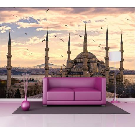 Stickers géant déco : mosquée