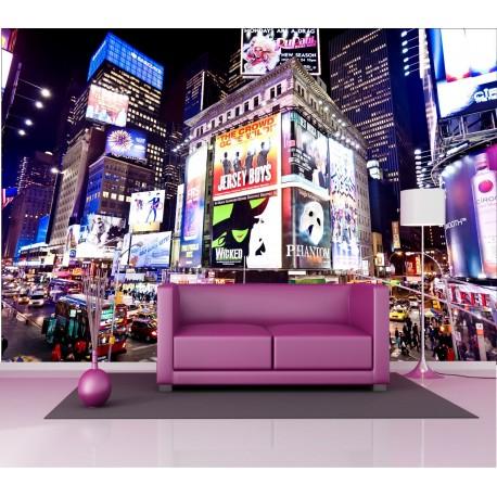 Stickers géant déco : New York la nuit