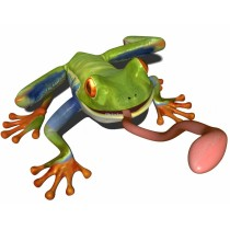 Sticker Grenouille 1