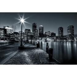 Stickers muraux déco: New York noir et blanc