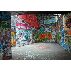 Stickers muraux déco: tag graffiti