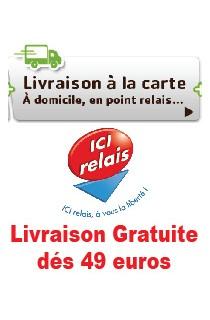 Livraison gratuite dés 49 euros